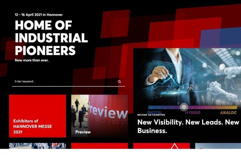 HANNOVER MESSE 2021 jak na výstavišti, tak digitálně   Byznys